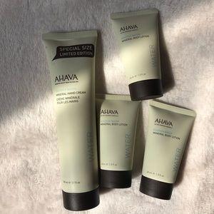 Ahava Deadsea Water Mineral Lotion Set